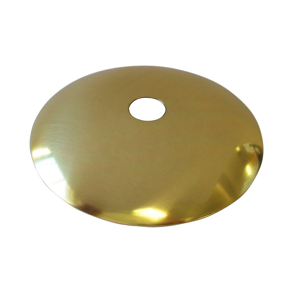 Vase Top Brassed Domed 70mm With 10mm Hole