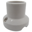 [05743] Porcelain Decorative Battenholder ES / E27 Not Shade Compatible