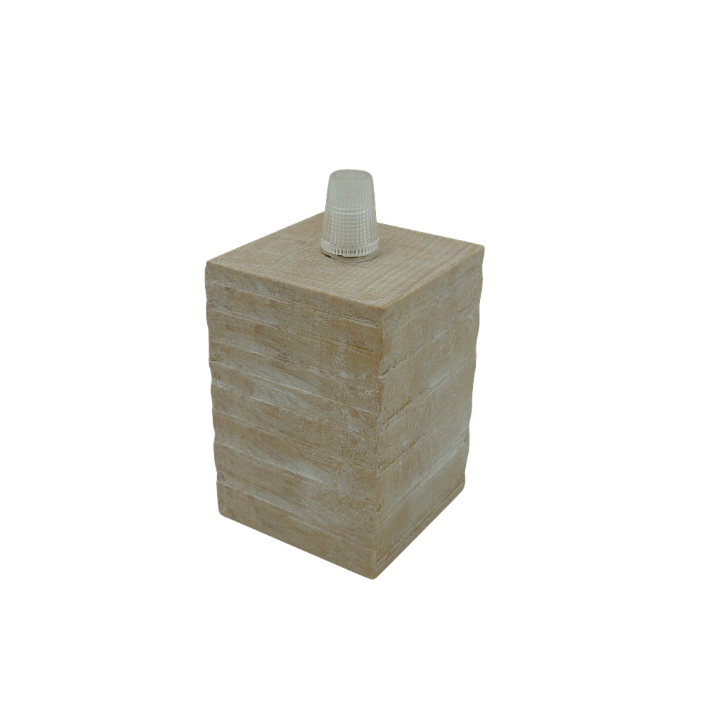 Wood Pendant Lampholder ES / E27 Cordgrip Entry, Not Shade Compatible
