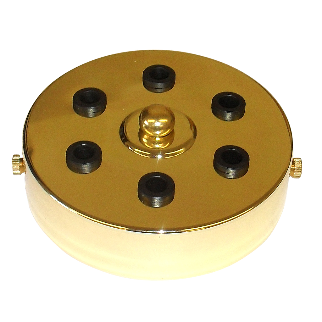 6-Outlet Ceiling Rose Metal 100mm Width