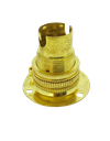 [05129] Brass Ecofix Battenholder SBC / B15 Shade Compatible (Lock Ring Included)