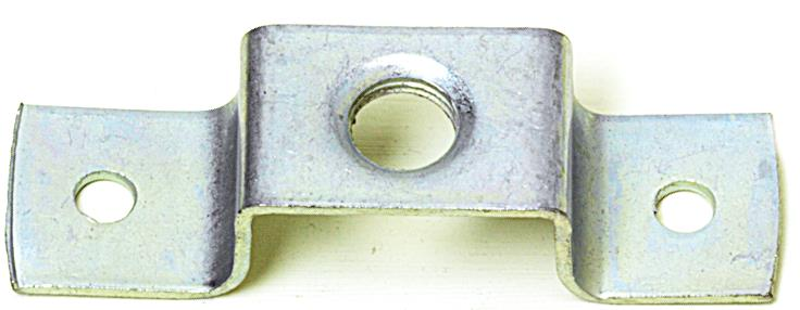 Ceiling Hook-plate with 10mm Female Thread Galvanised, Length 70mm
