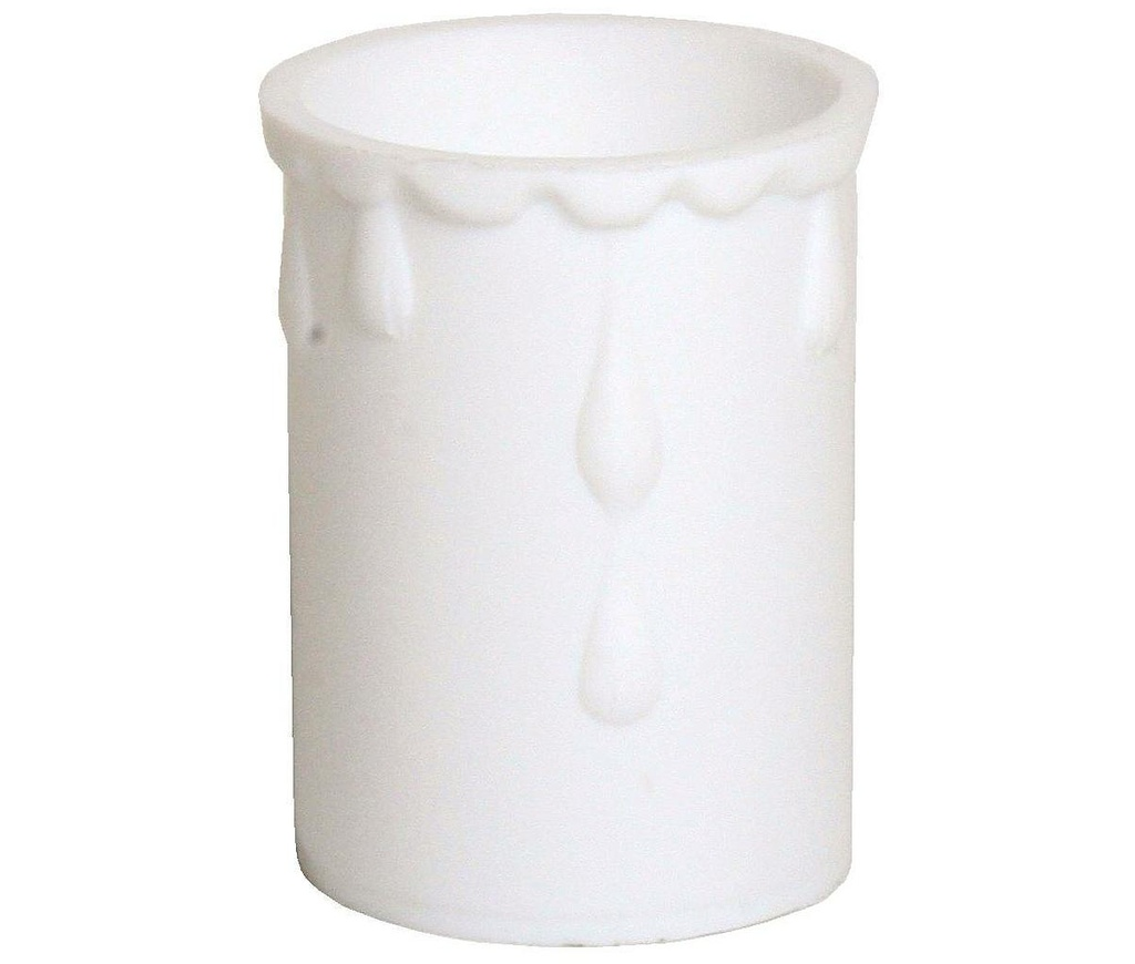 [05192] Plastic Drip White, Internal Diameter: 33mm, Height: 50mm