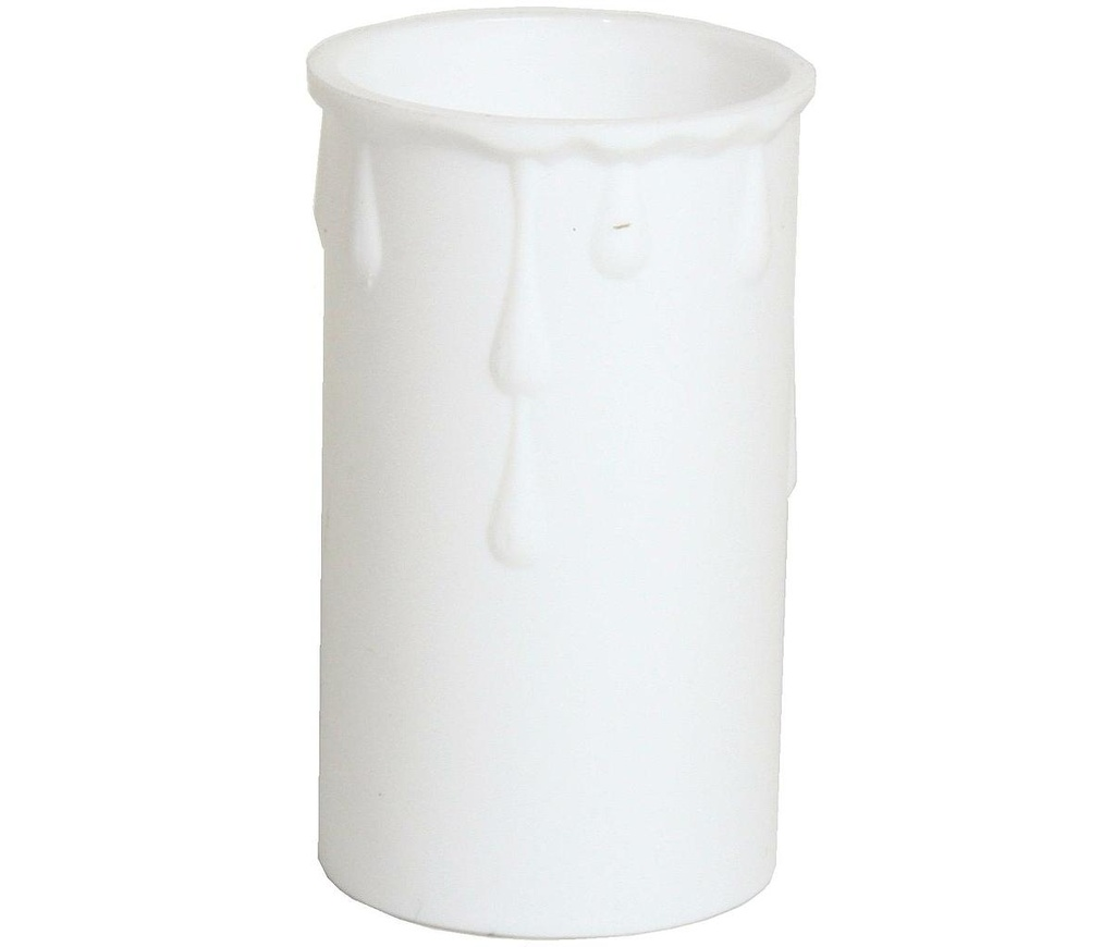 [05193] Plastic Drip White, Internal Diameter: 37mm, Height: 70mm