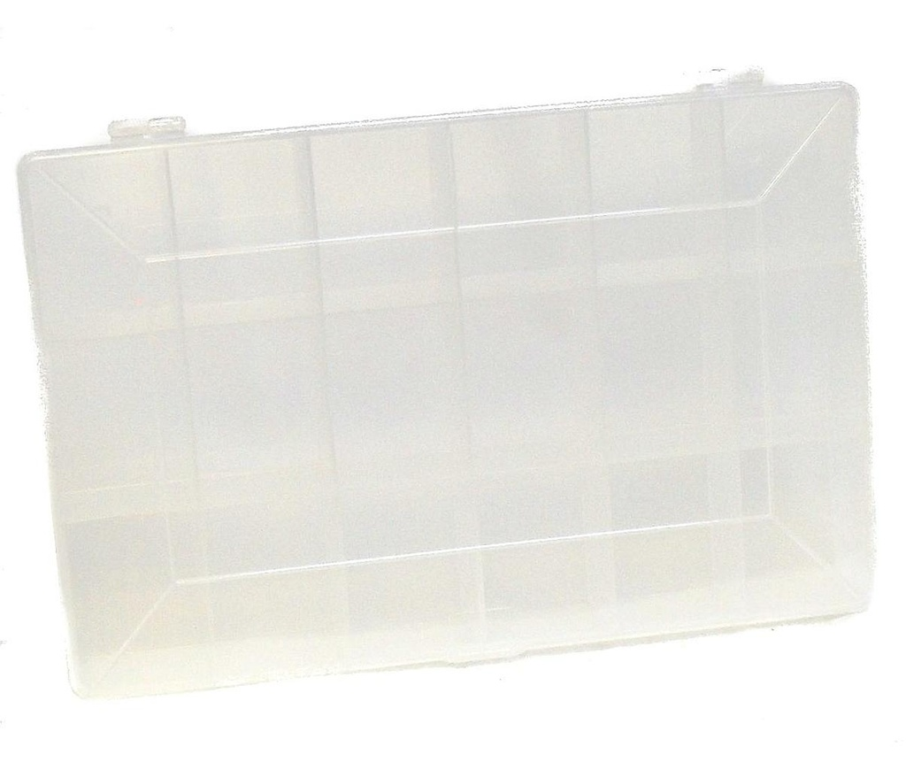 [05436] Clear Display Box 18 compartments