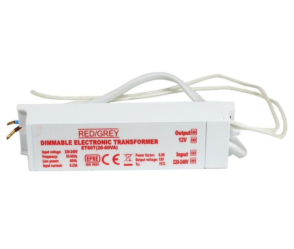 [15222] 12V Lighting Transformer 60VA