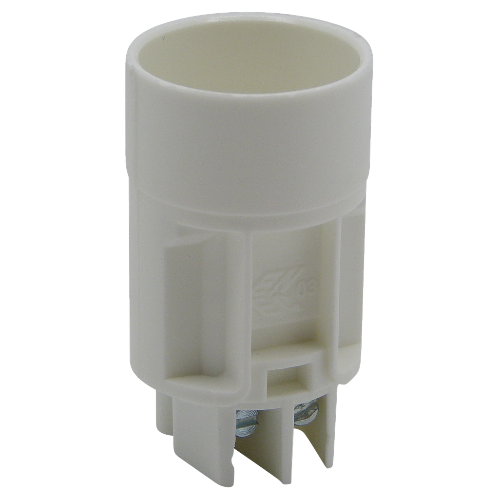 [05795] E14 Candle Lampholder Top Section, Screw Terminal, Compatible with Lampfix Part Numbers 06205, 06145, 06052 & 06144