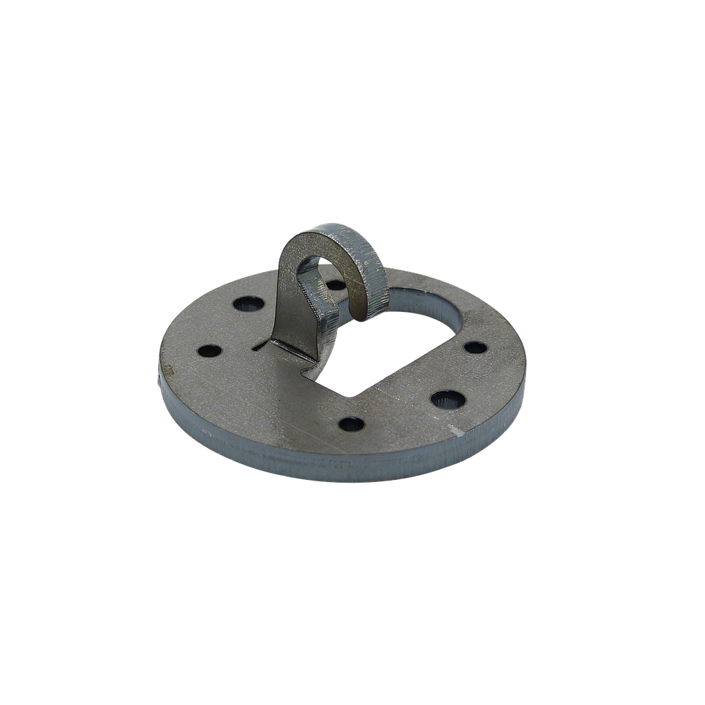 [06067] Heavy Duty 6mm Steel Ceiling Hook 70mm Diameter 40kg SWL