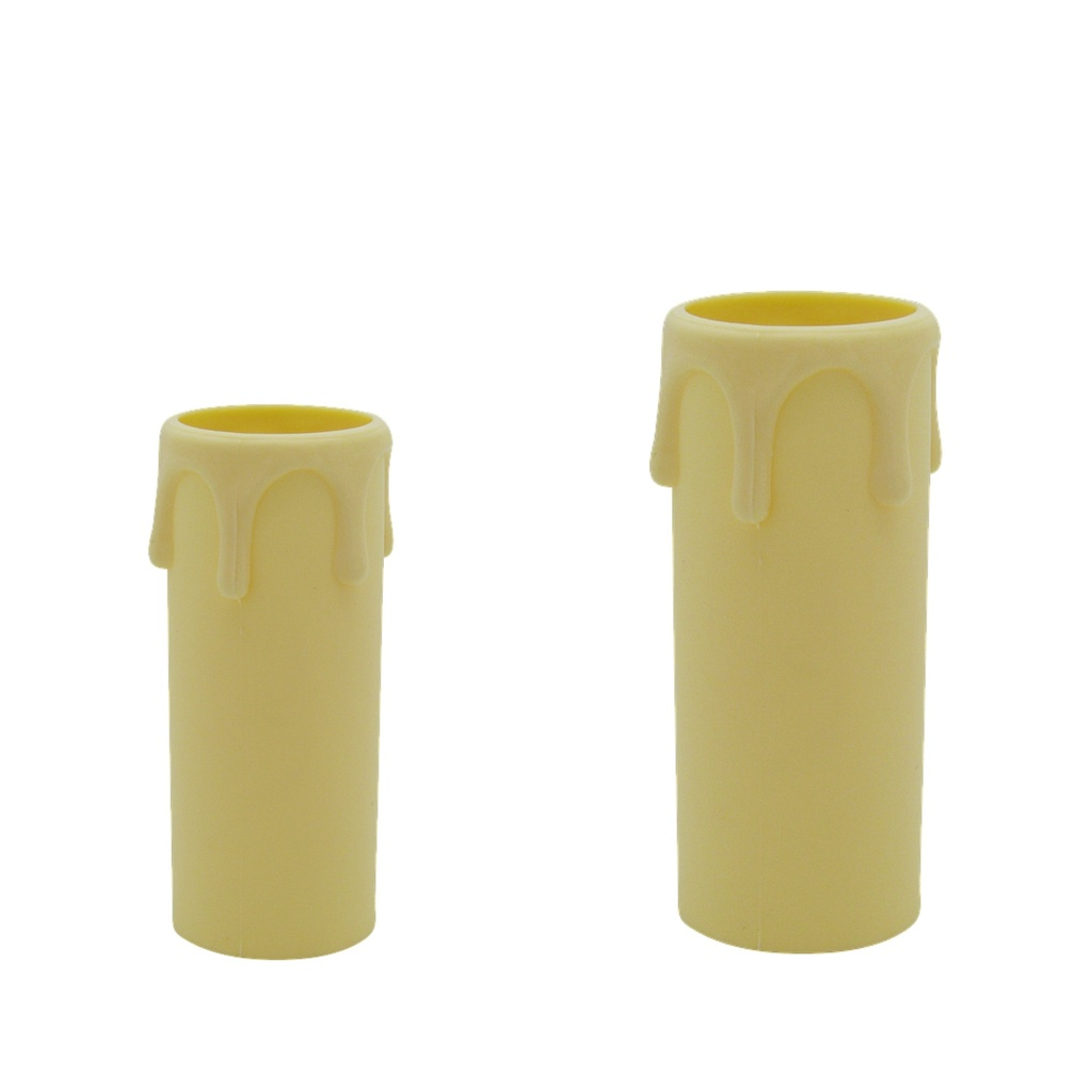 [Candle Sleeve] Plastic Drip Cream, Internal Diameter: 27mm