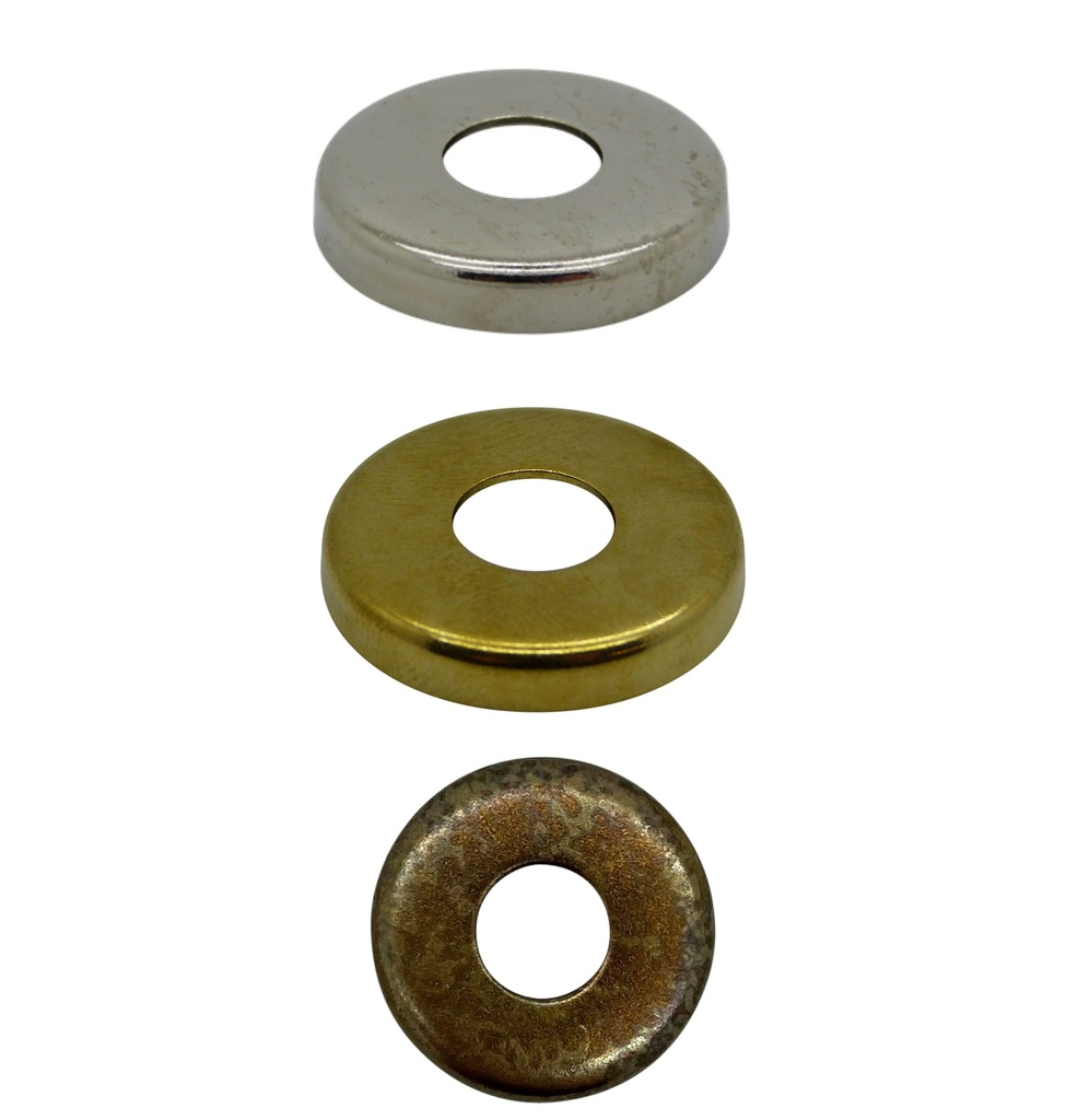 [Raised Edge Washer] End Cap / Locknut Cover, Diameter 27mm with 10mm hole