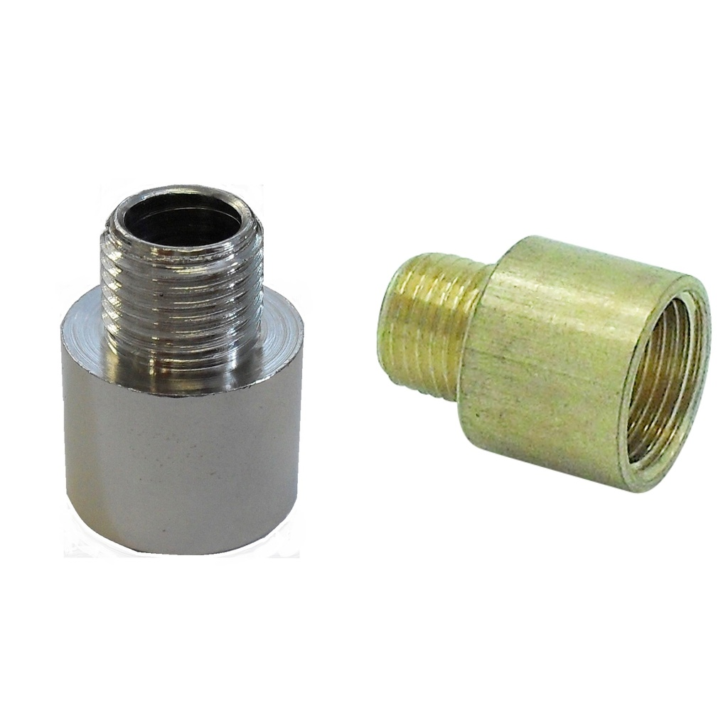 [Increaser] Increaser (Hollow) Male Thread 10mm, Female Thread ½""