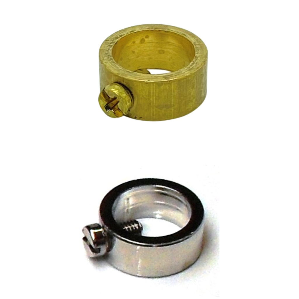[Collars] Brass 10mm Tube Collar with Locking Screw