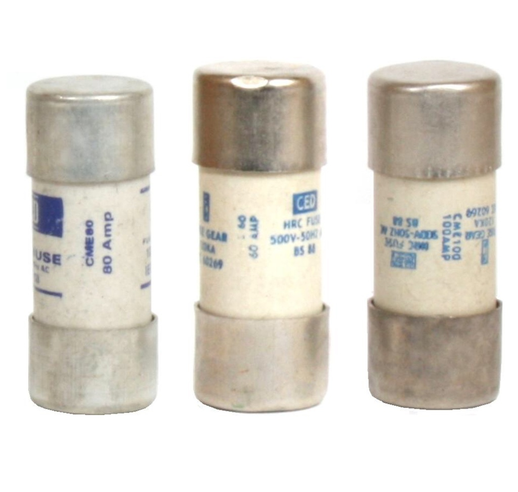 [Cartridge Fuse] Consumer Unit Fuse, Diameter - 22.2mm