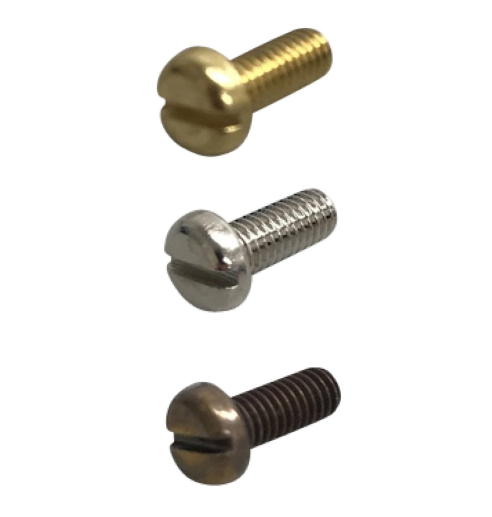 [Side Screw] Slotted Pan Head M4 x 10mm Screw for Cross Strap 194mm