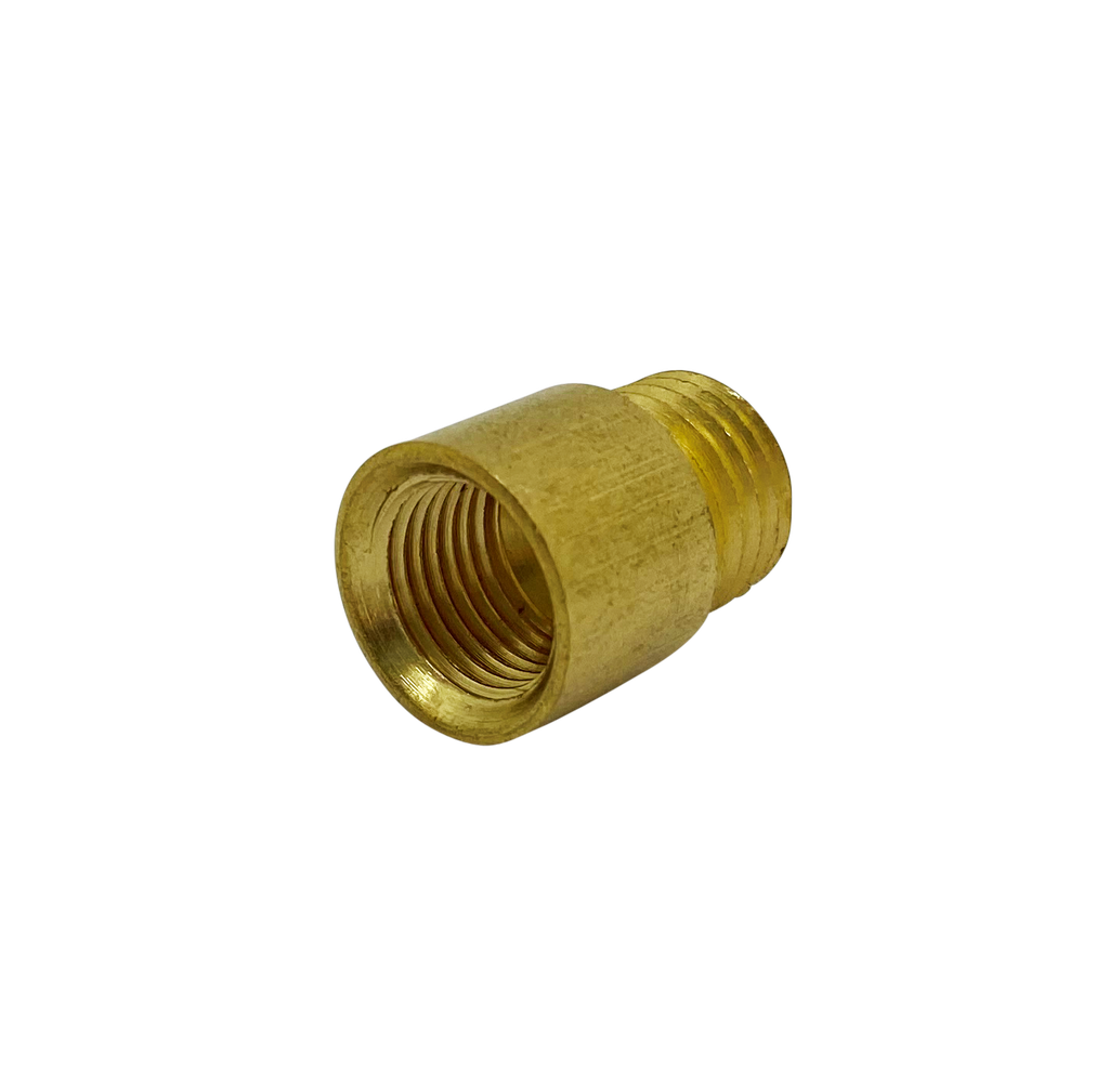 [06096] Adaptor French Thread Male - 10mm Female Brass (Non Standard)
