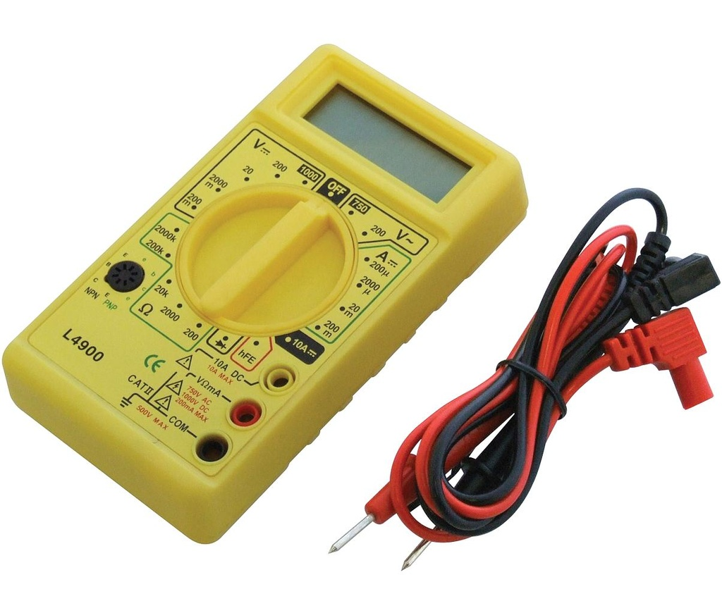 [07054] Digital Multimeter,  Mini